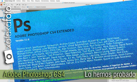Adobe Photoshop CS4, análisis