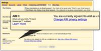 GMail Chat con soporte de AIM en algunas cuentas