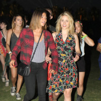Jessica Szohr y Dianna Agron Coachella 2014