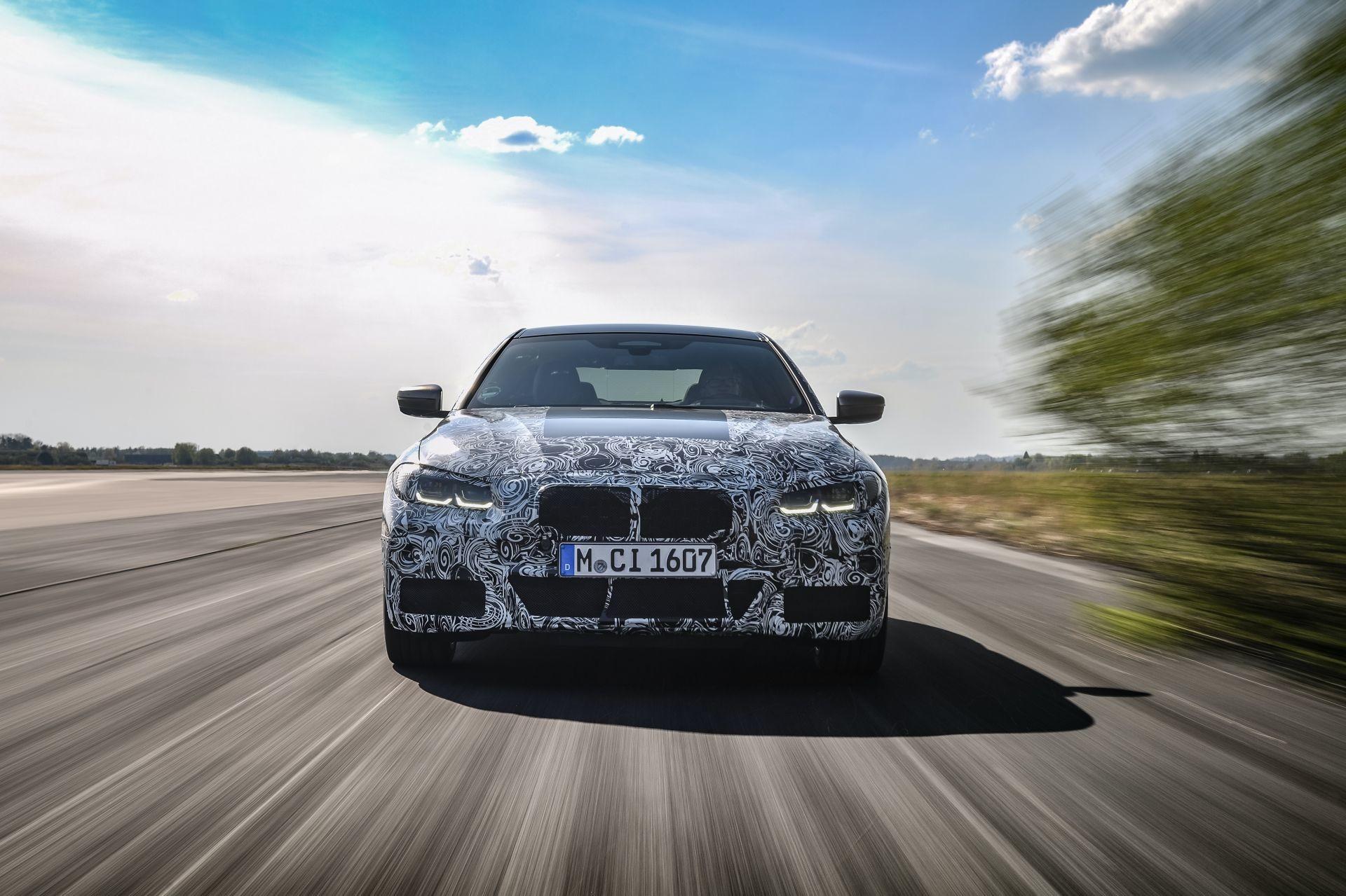 Foto de BMW Serie 4 2021 (fotos espía) (1/38)