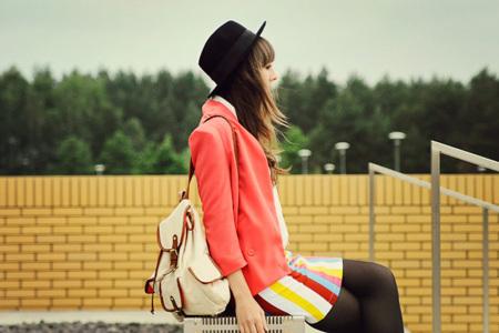 Moda en la calle: la mujer moderna de ciudad