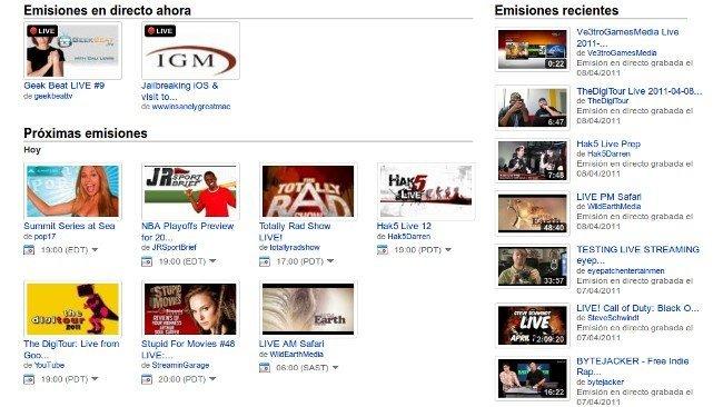 El directo ya es parte de YouTube de forma definitiva