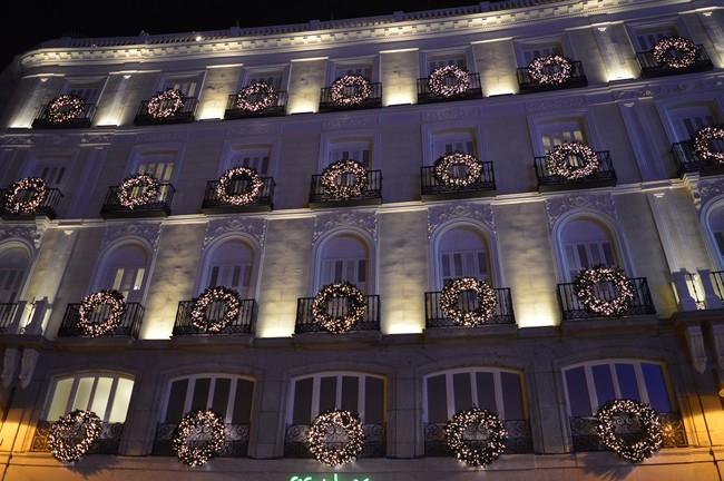 Hoteles Madrid Navidad