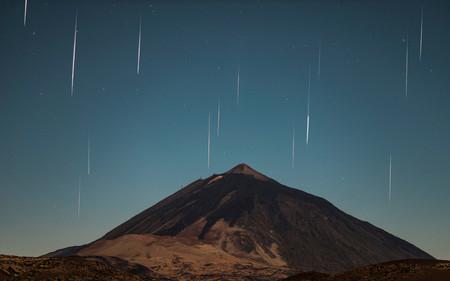 Esta madrugada habrá lluvia de estrellas: las Eta-Acuáridas saludarán en nombre del Cometa Halley