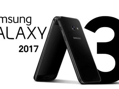 Samsung Galaxy A3 (2017), un terminal compacto y con resistencia al agua, ahora por 219 euros