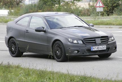 Fotos al descubierto del nuevo Mercedes-Benz Sportcoupé