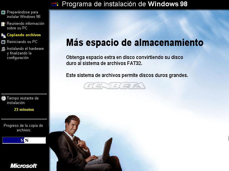 Foto de Programa de instalación de Windows 98 (4/10)
