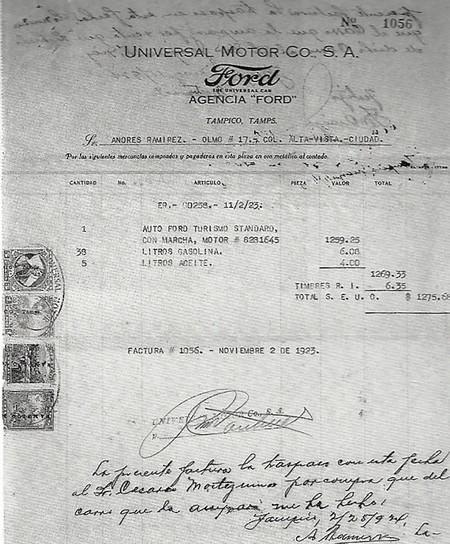 Primeros Autos En Mexico