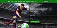 ¿Está cobrando EA por las demos de FIFA 14 y UFC de Xbox One? (actualizado)