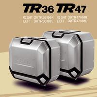 Estas maletas de aluminio tienen capacidad de hasta 48 litros, son compatibles con muchas motos trail y salen por 300 euros