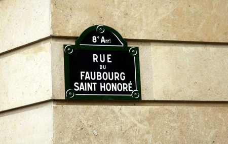 Rue Faubourg Saint Honore