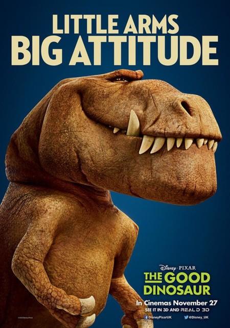 Otro póster de El Viaje de Arlo (The Good Dinosaur)