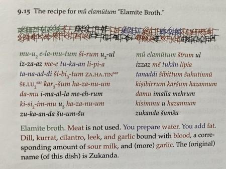 Profesor Bill Sutherland Recetas Mesopotamicas Pagina Sopa Elamita