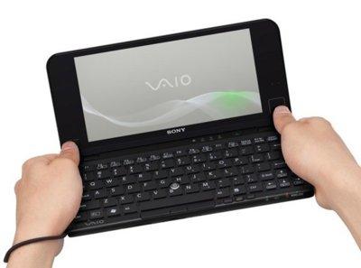 Sony VAIO P se renueva de forma importante, destacando el touchpad y el acelerómetro