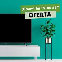 """Con el """"Plan Renove"""" de MediaMarkt, puedes estrenar la Xiaomi Mi TV 4S de 55 pulgadas ahorrando 110 euros"""