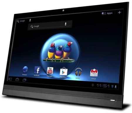 ViewSonic VSD220 le mete Android a su último monitor táctil