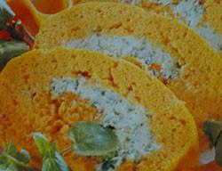 Rulada de zanahorias