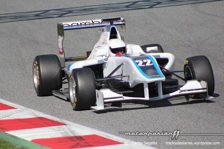 GP3 Barcelona Tests Carmen Jordá