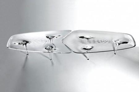 Mesa Zaha-Hadids-Liquid-Glacial-Coffee-Table