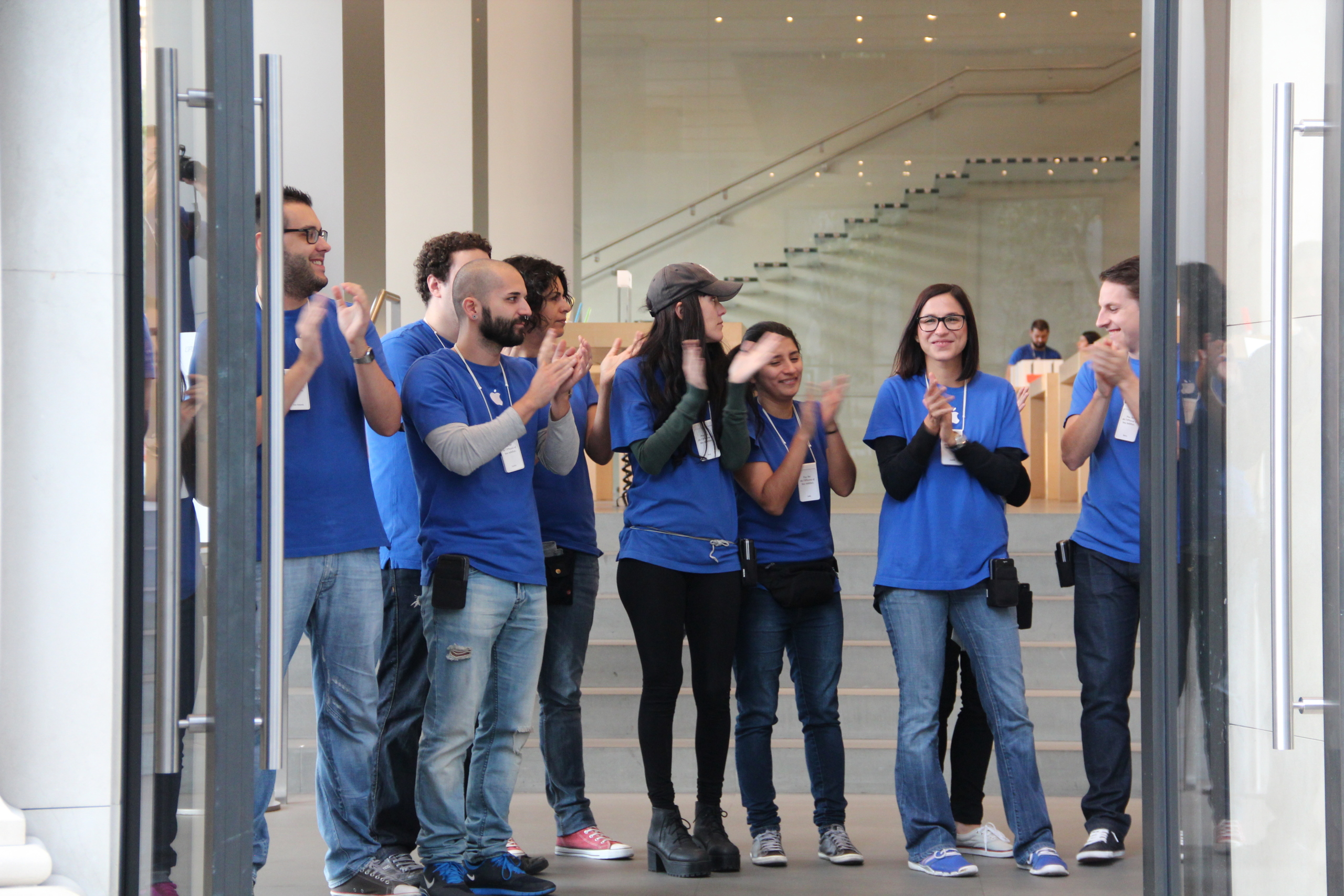 Lanzamiento del iPad Air en Barcelona