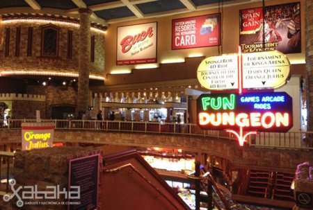Salones recreativos, un oasis geek en Las Vegas