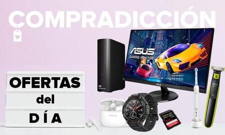 Ofertas flash y bajadas de precio en Amazon: monitores ASUS, relojes Amazfit, auriculares TicPods o cuidado personal Philips más baratos