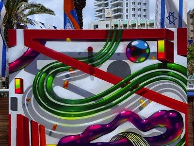 'Art in Motion Project', arte urbano a cuatro manos esta semana en Mulafest