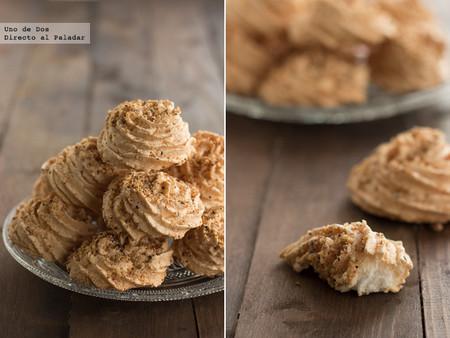 Bocaditos de merengue con avellana, receta para endulzar la sobremesa