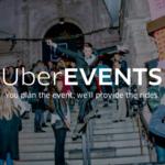 UberEvents, ahora la aplicación te lleva de fiesta