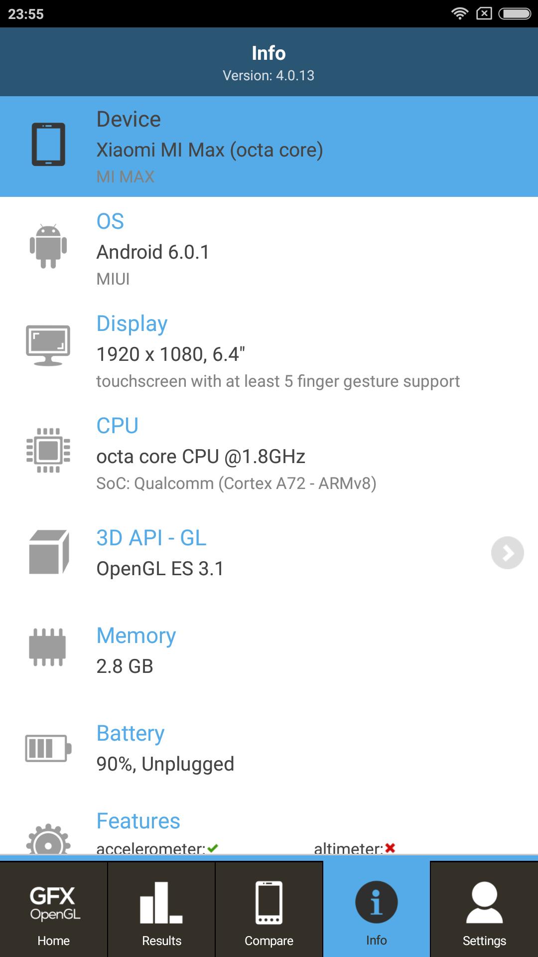 Foto de Xiaomi Mi Max, benchmarks (22/34)