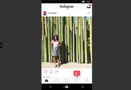 La nueva actualización de Instagram trae Stories a Windows 10 Mobile