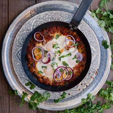 Shakshuka: el plato de hortalizas y huevos del magreb que triunfa en Israel