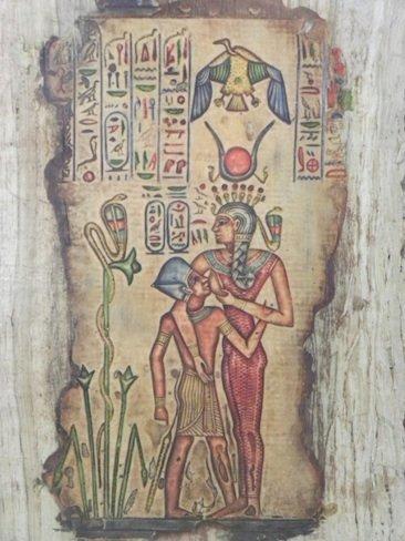 Lactancia en el arte egipcio