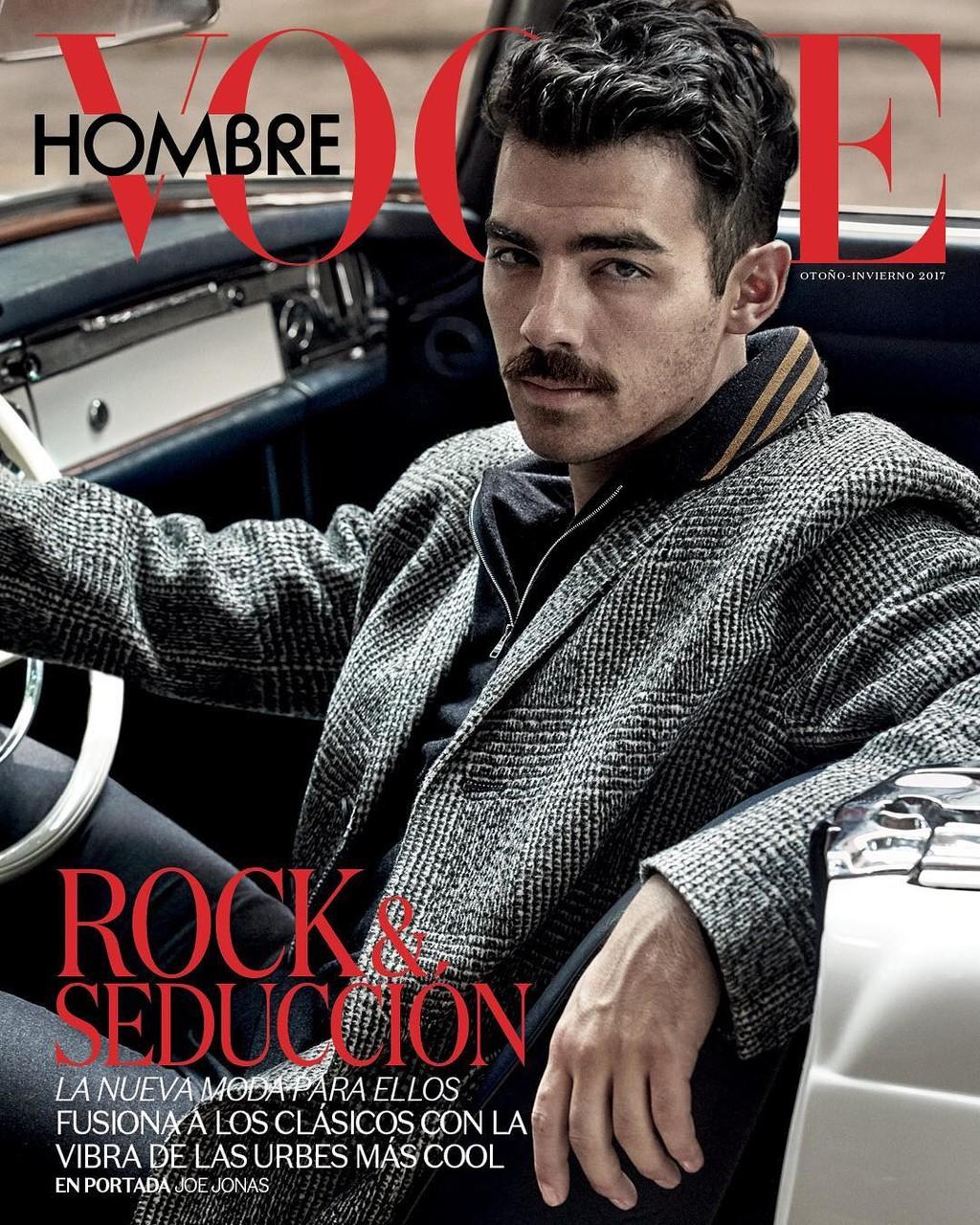 Joe Jonas Bogue Hombre Portada Mexico