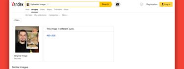 Subir una foto a Yandex es un excelente examen sobre tu privacidad en la red que puedes hacer ahora mismo