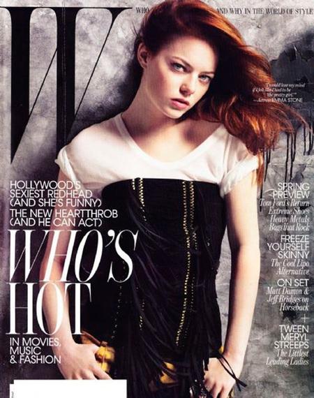 Emma Stone  W magazine