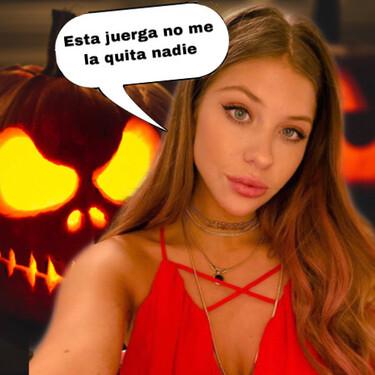 Anita Matamoros no duda en celebrar Halloween y esto es lo que se ha gastado en su disfraz