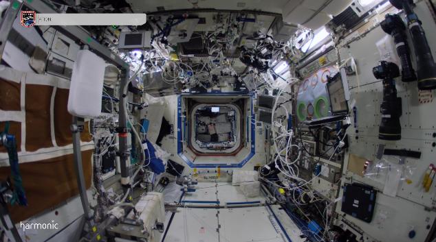 Un impresionante paseo por la Estación Espacial Internacional en vídeo 4K