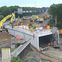 Un túnel de 70 metros en 48 horas: la increíble velocidad de los holandeses construyendo cosas