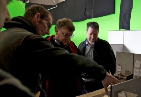 Guillermo del Toro rodando Pacific Rim