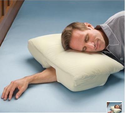 Almohada para colocar el brazo debajo