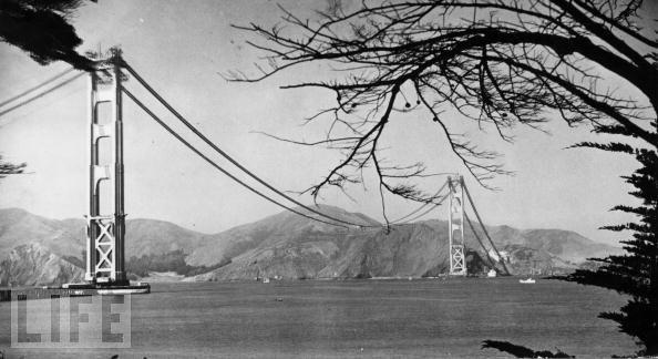 Foto de Construcción del Golden Gate, revista LIFE (7/11)