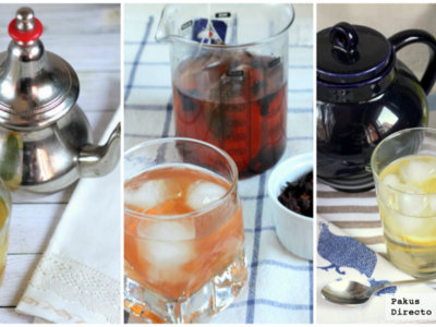Tres recetas de té helado