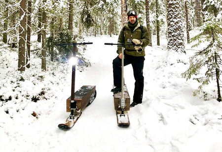 Patinete Electrico Nieve Elyly 1