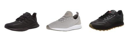 Tenemos varias ofertas en tallas sueltas de zapatillas Adidas, New Balance o Reebok en Amazon