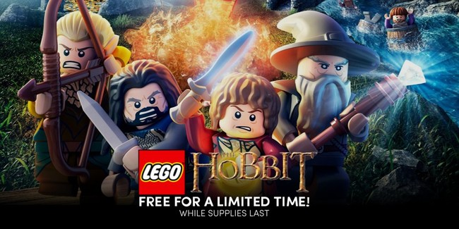 LEGO The Hobbit gratis para PC por tiempo muy limitado en Humble Bundle