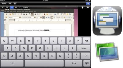 Remoter, un excelente cliente VNC para el iPad