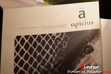 Apicius, cuadernos de alta gastronomía nº 13