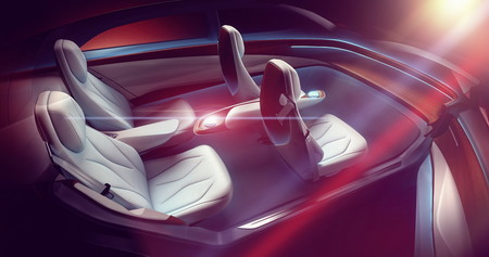 Volkswagen Id Vizzion Concept 3