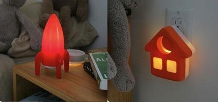 Lámparas de noche para la habitación de los niños